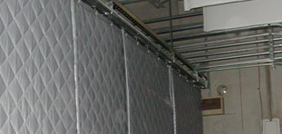 Quilted Fiberglass Absorbers and Composites